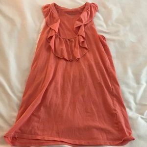Lilly Pulitzer size M coral racer back tank